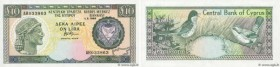 Country : CYPRUS  Face Value : 10 Pounds   Date : 01 février 1992  Period/Province/Bank : Central Bank of Cyprus  Catalogue reference : P.55b  Alphabe...
