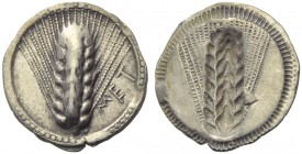 Lucania, Metapontion, Drachm, c. 540-510 BC