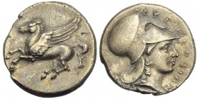 Sicily, Syracuse, Timoleon and Third Democracy (344-317), Stater, c. 344-336 BC