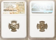 MACEDONIAN KINGDOM. Alexander III the Great (336-323 BC). AR drachm (17mm, 4.15 gm, 11h). NGC Choice VF 3/5 - 4/5. Posthumous issue of 'Colophon', ca....