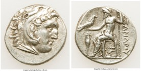 MACEDONIAN KINGDOM. Alexander III the Great (336-323 BC). AR drachm (18mm, 4.24 gm, 1h). XF. Posthumous issue of Lampsacus, ca. 310-301 BC. Head of He...