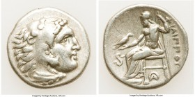 MACEDONIAN KINGDOM. Philip III Arrhidaeus (323-317 BC). AR drachm (18mm, 4.19 gm, 9h). Choice Fine. Lifetime issue of Lampsacus, ca. 323-317 BC. Head ...