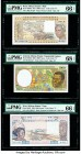 Central African States Banque des Etats de l'Afrique Centrale, Equatorial Guinea 1000 Francs 2000 Pick 502Nh PMG Superb Gem Uncirculated 68 EPQ; West ...