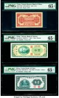China Federal Reserve Bank of China 5 Fen 1939 Pick J47b S/M#C286-30 PMG Gem Uncirculated 65 EPQ. China Central Bank of China 10 Cents = 1 Chiao; 20 C...