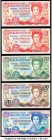 Falkland Islands Government of the Falkland Islands Group Lot of 5 Examples Crisp Uncirculated. As made paper wave.  HID09801242017  © 2020 Heritage A...