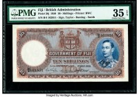 Fiji Government of Fiji 10 Shillings 1.7.1950 Pick 38j PMG Choice Very Fine 35 EPQ.   HID09801242017  © 2020 Heritage Auctions | All Rights Reserved