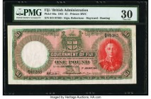 Fiji Government of Fiji 1 Pound 1.1.1941 Pick 40a PMG Very Fine 30.   HID09801242017  © 2020 Heritage Auctions | All Rights Reserved