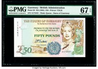 Guernsey States of Guernsey 50 Pounds ND (1994) Pick 59 PMG Superb Gem Unc 67 EPQ.   HID09801242017  © 2020 Heritage Auctions | All Rights Reserved