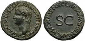 Germanicus, father of Caligula, As, Rome, AD 37-41
