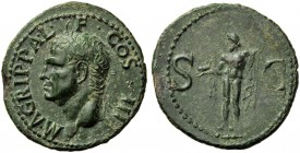 Agrippa, General of Augustus, As, Rome, AD 37-41