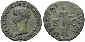 Claudius (41-54), As, Rome, AD 42-43