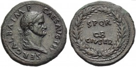 Galba (68-69), Sestertius, Rome, June - August AD 68