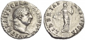 Vitellius (69), Denarius, Rome, c. late April - 20 December AD 69