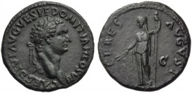 Domitian, as Caesar, Dupondius or As, Thrace (?), AD 80-81
