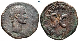 Augustus 27 BC-AD 14. M. Salvius Otho, moneyer, 7 BC. Rome. As Æ