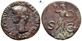 Claudius AD 41-54. Rome. As Æ