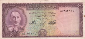 Afghanistan, 50 Afghanis, 1957, XF(+), p33c