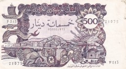 Algeria, 500 Dinars, 1970, XF, p129