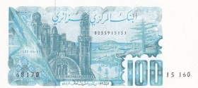Algeria, 100 Dinars, 1982, UNC, p134a