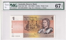Australia, 1 Dollar, 1983, UNC, p42d
