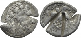 EASTERN EUROPE. Imitations of Philip II of Macedon. Tetradrachm (3rd-2nd centuries BC).