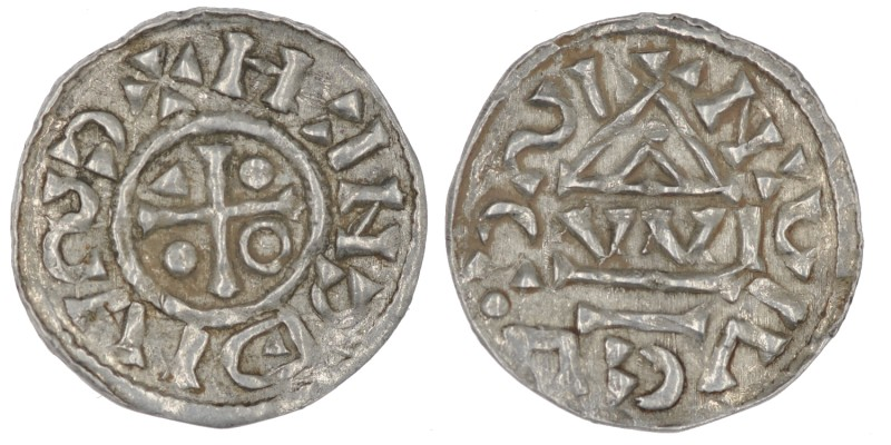 Germany. Duchy of Bavaria. Heinrich IV 995-1002. AR Denar (18mm, 0.99g). Regensb...