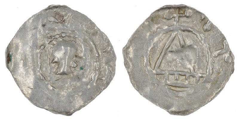 Germany. Konstanz. Anonymous. 11th century. AR Denar (20mm, 0.83g). Konstanz min...
