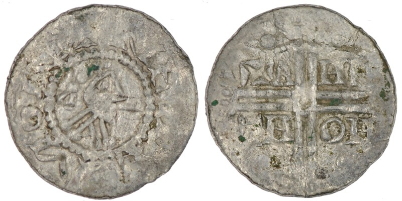 The Netherlands. Friesland. Hermann von Kalvelage 1020-1051. AR Denar (18mm, 0.6...