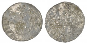 The Netherlands. Utrecht. Wilhelm de Ponte 1054-1076. AR Denar (18mm, 0.60g). +H•ICV[__]AIE[__], bishop facing with crosier and staff terminating in c...