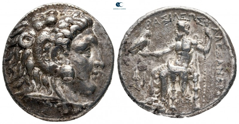 "Kings of Macedon. Uncertain mint, possibly Side. Alexander III ""the Great"" 336-3..."