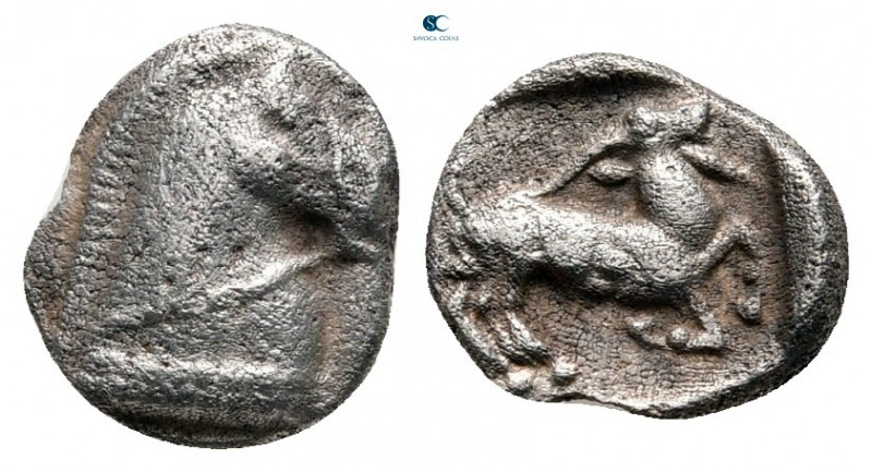 Thraco-Macedonian Region. Monetary League in Pangaion circa 465-430 BC. 