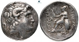 Kings of Thrace. Possibly Ephesos. Macedonian. Lysimachos 305-281 BC. Tetradrachm AR