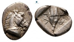 Thessaly. Thessalian League circa 470-460 BC. Obol AR