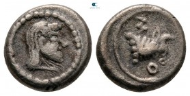 Colchis. Uncertain mint in Black Sea Area circa 500-400 BC. Hemidrachm AR