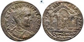 Frigya.  Eumeneia - Fulvia.  Philip I Arab AD 244-249.  Flavius Philikos, yüksek rahip.  Bronz Æ