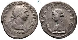 Kapadokya.  Sezaryen.  Trajan AD 98-117.  Didrachm AR
