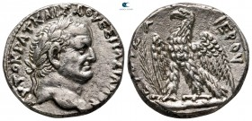 Seleucis and Pieria. Antioch. Vespasian AD 69-79. Dated 'New Holy Year' 3 = AD 70/71. Tetradrachm AR