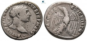 Seleucis and Pieria. Antioch. Trajan AD 98-117. Dated RY 15 = AD 110/1. Tetradrachm AR