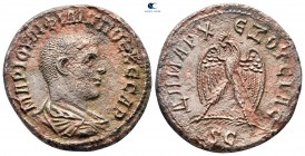 Seleucis and Pieria. Antioch. Philip II as Caesar AD 244-247. Struck AD 244. Billon-Tetradrachm
