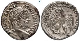 Phoenicia.  Berytus.  Caracalla AD 198-217.  Tetradrahmi AR