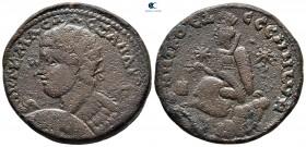 Mezopotamya.  Edessa.  Severus Alexander AD 222-235.  Bronz Æ
