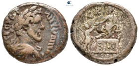 Egypt. Alexandria. Antoninus Pius AD 138-161. Dated RY 20=AD 156-157. Billon-Tetradrachm