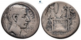C. Coelius Caldus 104 BC.  Roma.  Denarius AR