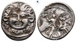 L. Plautius Plancus 47 BC.  Roma.  Fourreè Denarius