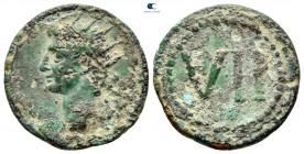 AD 14-37.  Anonim sorunlar.  Tiberius zamanı.  MS 22 / 3-37 dolaylarında vuruldu.  Tessera Æ