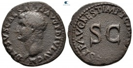 Tiberius'un oğlu Drusus MS 22-23.  Tazminat meselesi Titus döneminde ortaya çıktı.  Roma.  Æ