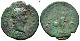 Nero AD 54-68.  Roma.  Æ