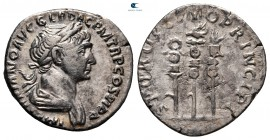 Trajan AD 98-117.  Roma.  Denarius AR