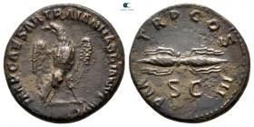 Hadrian MS 117-138.  Roma.  Yarı Æ
