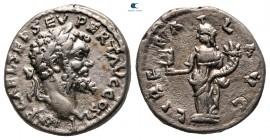 Septimius Severus AD 193-211.  Emesa.  Denarius AR